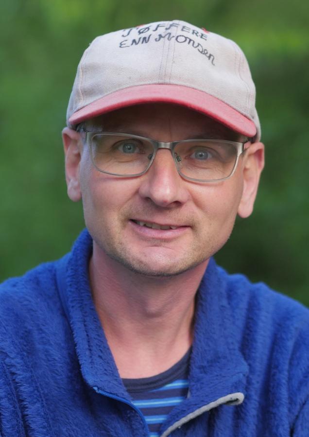 Ruben Turglad på vei til Rubens plass. (Foto: Rune Myrland)