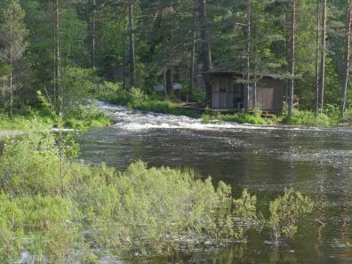 Der Heivannsbekken renner ut i Galtetjønn ligger Rubens plass. (Foto: Rune Myrland)